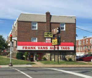 Frank Van's Auto Tags and Title Transfers. Open Sunday!